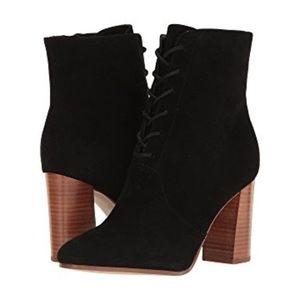 Marc Fisher Edina Almond Toe Mid-Calf Boots Size 7